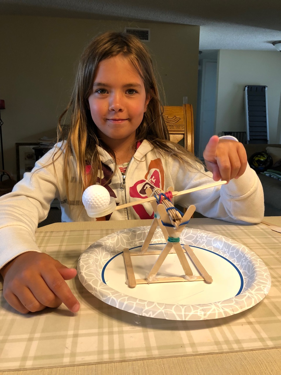 Sophia's MAD about STEAM catapult
